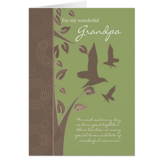 grandpa birthday card - birthday greeting card for