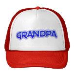 Grandpa (blue lettering) trucker hat