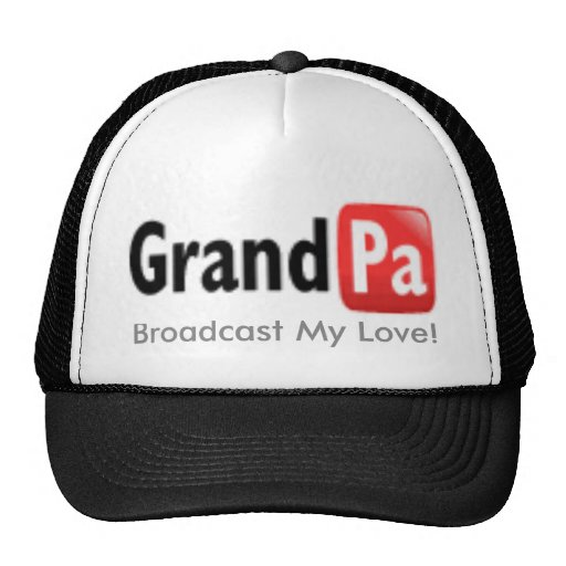 grandpa, Broadcast My Love! Mesh Hats