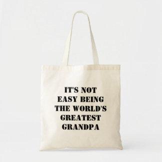 Grandpa Budget Tote Bag