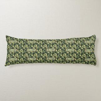 Grandpa Camo Body Pillow