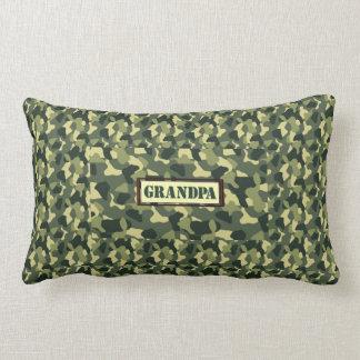 Grandpa Camo Lumbar Pillow