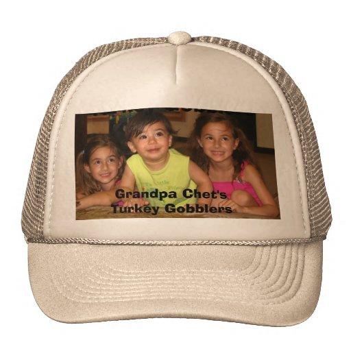 Grandpa Chet's Turkey Gobblers Hat