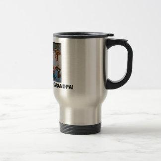 Grandpa coffee travel mug. travel mug