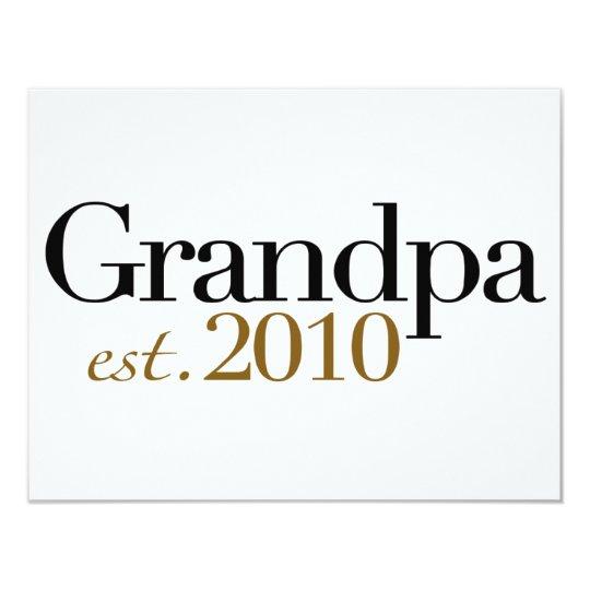 Grandpa Est 2010 Card