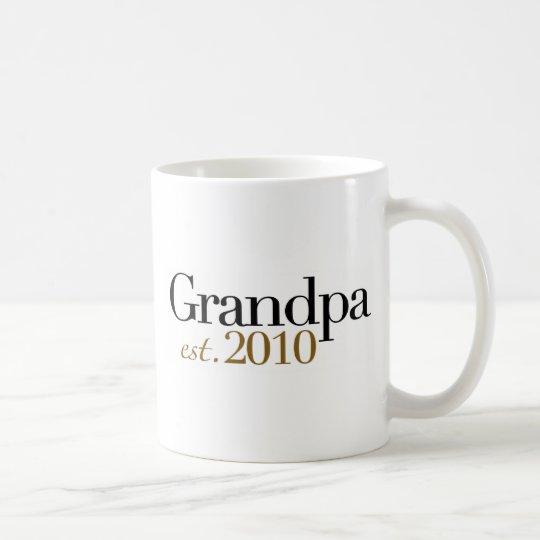 Grandpa Est 2010 Coffee Mug