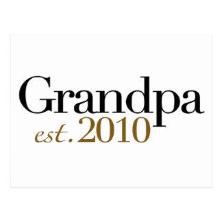Grandpa Est 2010 Postcard