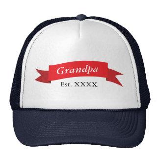 Grandpa Est. XXXX Trucker Hat