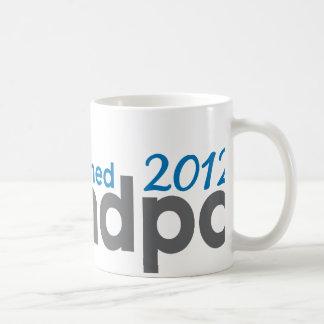 Grandpa established 2012 coffee mug