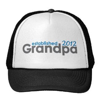Grandpa established 2012 trucker hat