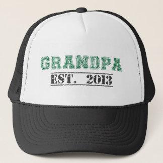 Grandpa, Established 2013 Trucker Hat