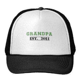 Grandpa Established 2014 Mesh Hats