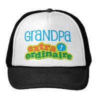 Grandpa Extraordinaire Gift Idea Mesh Hats
