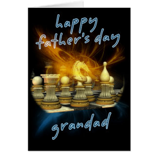Grandpa - Father's Day Card - Chess