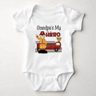 Grandpa Firefighter Children's Gifts Baby Bodysuit