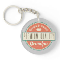 Grandpa (Funny) Gift Key Chain
