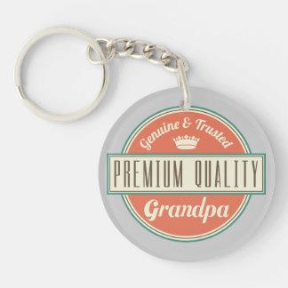 Grandpa (Funny) Gift Keychain