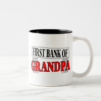 GRANDPA FUNNY Two-Tone COFFEE MUG
