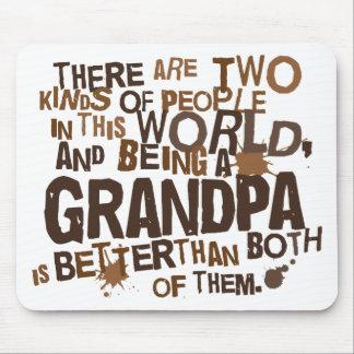 Grandpa Gift (Funny) Mouse Pad