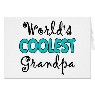Grandpa Gifts Greeting Card