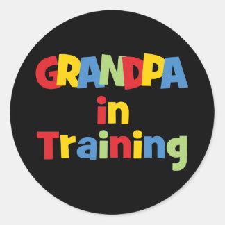 Grandpa Gifts Classic Round Sticker