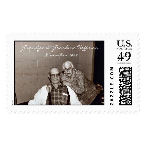 Grandpa & Grandma Hoffman  Postage