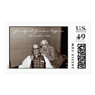 Grandpa & Grandma Hoffman  Stamp