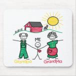 Grandpa Grandma & Me Mouse Pad