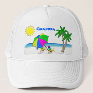 Grandpa Hats with Cheerful Beach Caps for Men