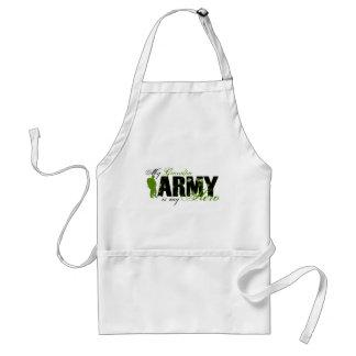 Grandpa Hero 3 - ARMY Adult Apron