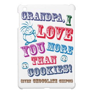 Grandpa I Love You More Than Cookies! iPad Mini Covers