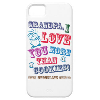 Grandpa I Love You More Than Cookies! iPhone SE/5/5s Case