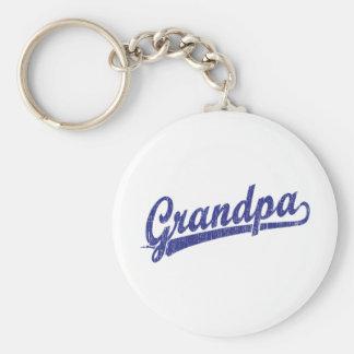 Grandpa in blue keychain