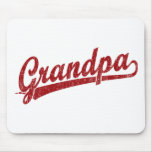 Grandpa in red mouse pads