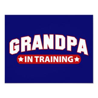 Grandpa In Training Card