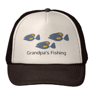 Grandpa is Fishing Trucker Hat