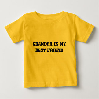 Grandpa is my best friend baby T-Shirt