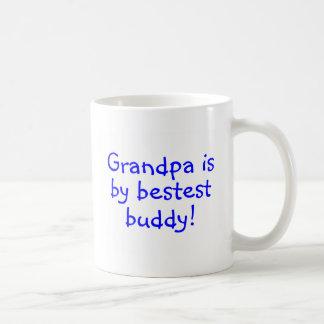 Grandpa Is My Bestest Buddy Coffee Mug