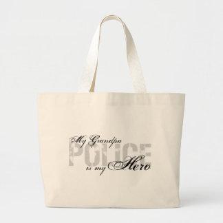 Grandpa Is My Hero - POLICE Tote Bag