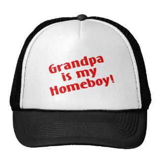 Grandpa Is My Homeboy Trucker Hat