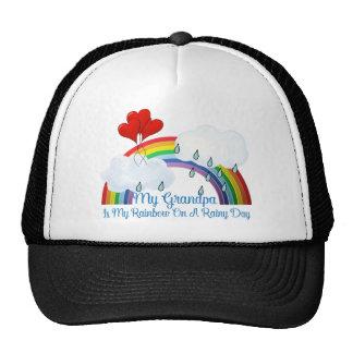 Grandpa Is My Rainbow Trucker Hat