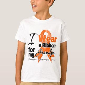 Grandpa - Leukemia Ribbon T-Shirt
