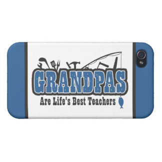 Grandpa Life's Best Teacher iPhone 4/4S Cover