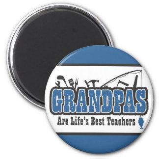 Grandpa Life's Best Teacher Magnet
