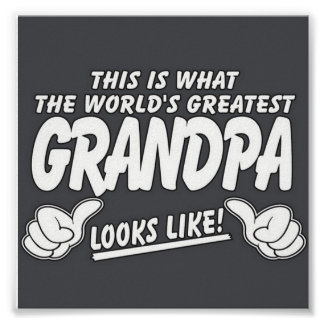 Grandpa Looks Like! Poster