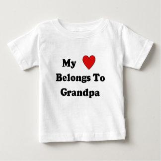 Grandpa Love Baby T-Shirt
