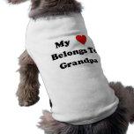 Grandpa Love Doggie Shirt
