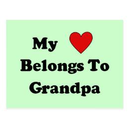 Grandpa Love Postcard