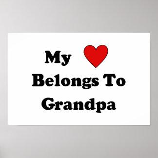 Grandpa Love Poster