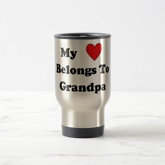 Grandpa Love Travel Mug